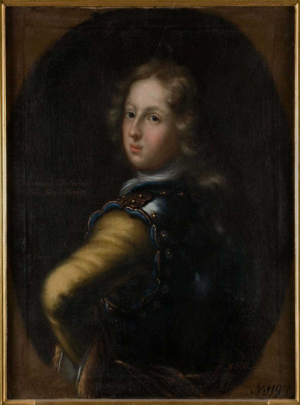 Charles III Guillaume, margrave de Bade-Durlach, jeune homme, par Ehrenstrahl