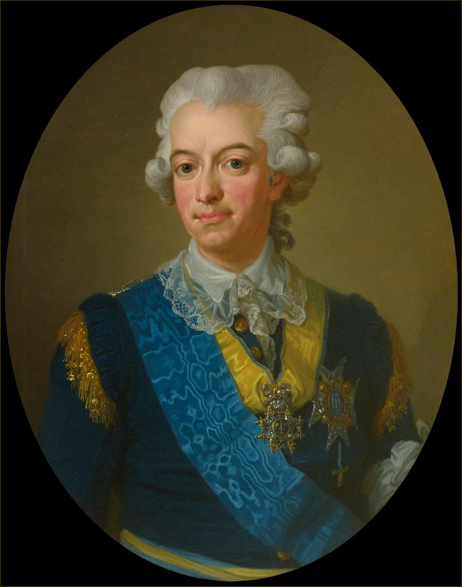Gustave III, roi de Suède, vers 1785, par Pasch