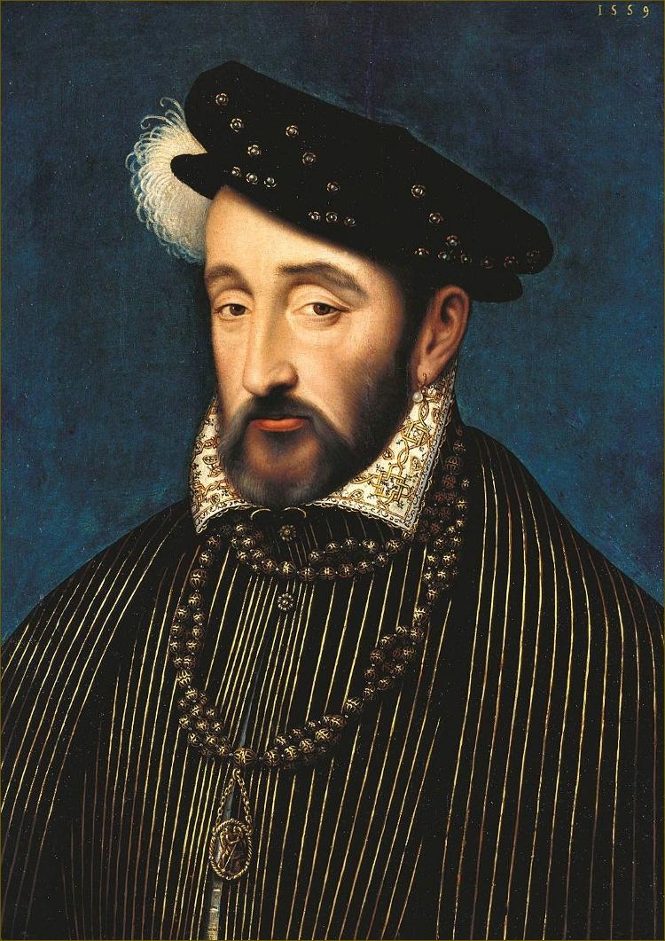 Henri II, roi de France, par Clouet