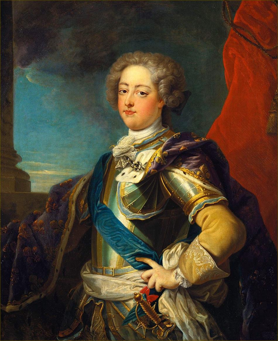 Louis XV, roi de France, atelier de Jean-Baptiste Van Loo