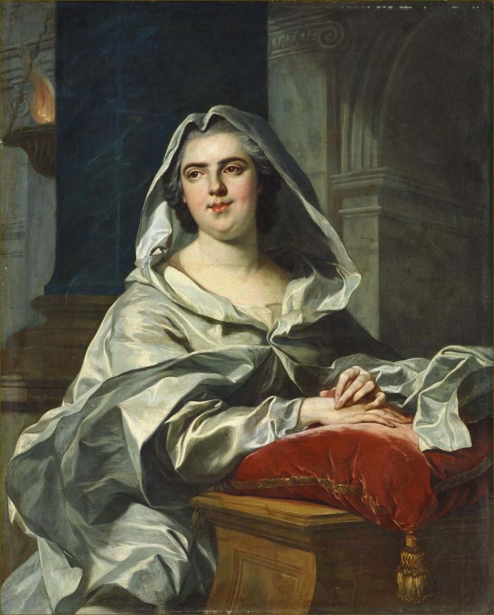 Madame Elisabeth de France, duchesse de Parme, en vestale, d'après Louis-Michel Van Loo