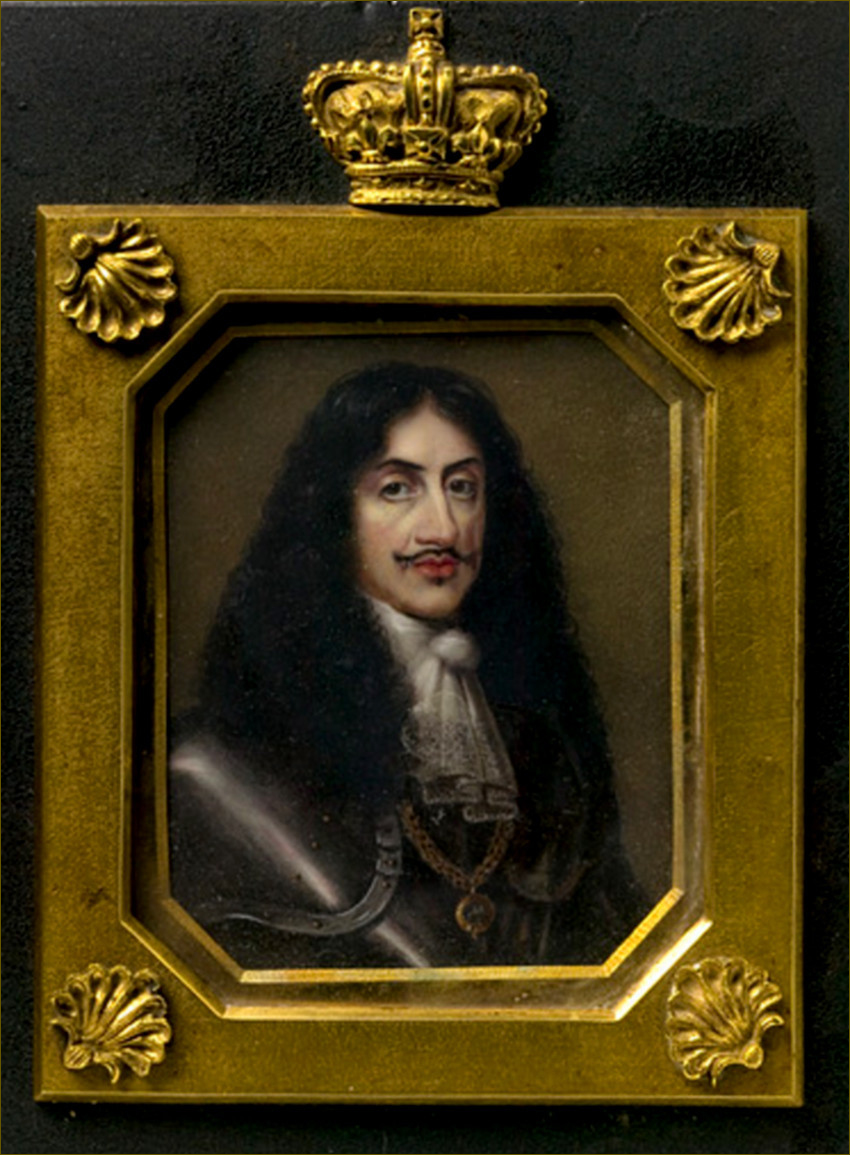 Charles II, roi d'Angleterre, par Denis Brownell Murphy