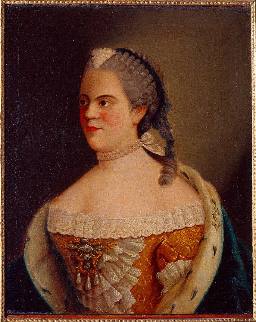 Madame Elisabeth de France, duchesse de Parme, d'après Liotard