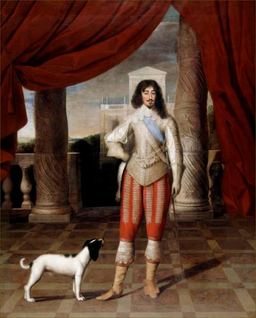 Louis XIII, roi de France, par Elle l'Ancien