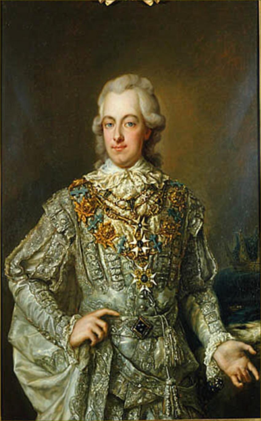 Frédéric-Adolphe de Suède, duc d'Ostrogothie, vers 1780, par Pasch