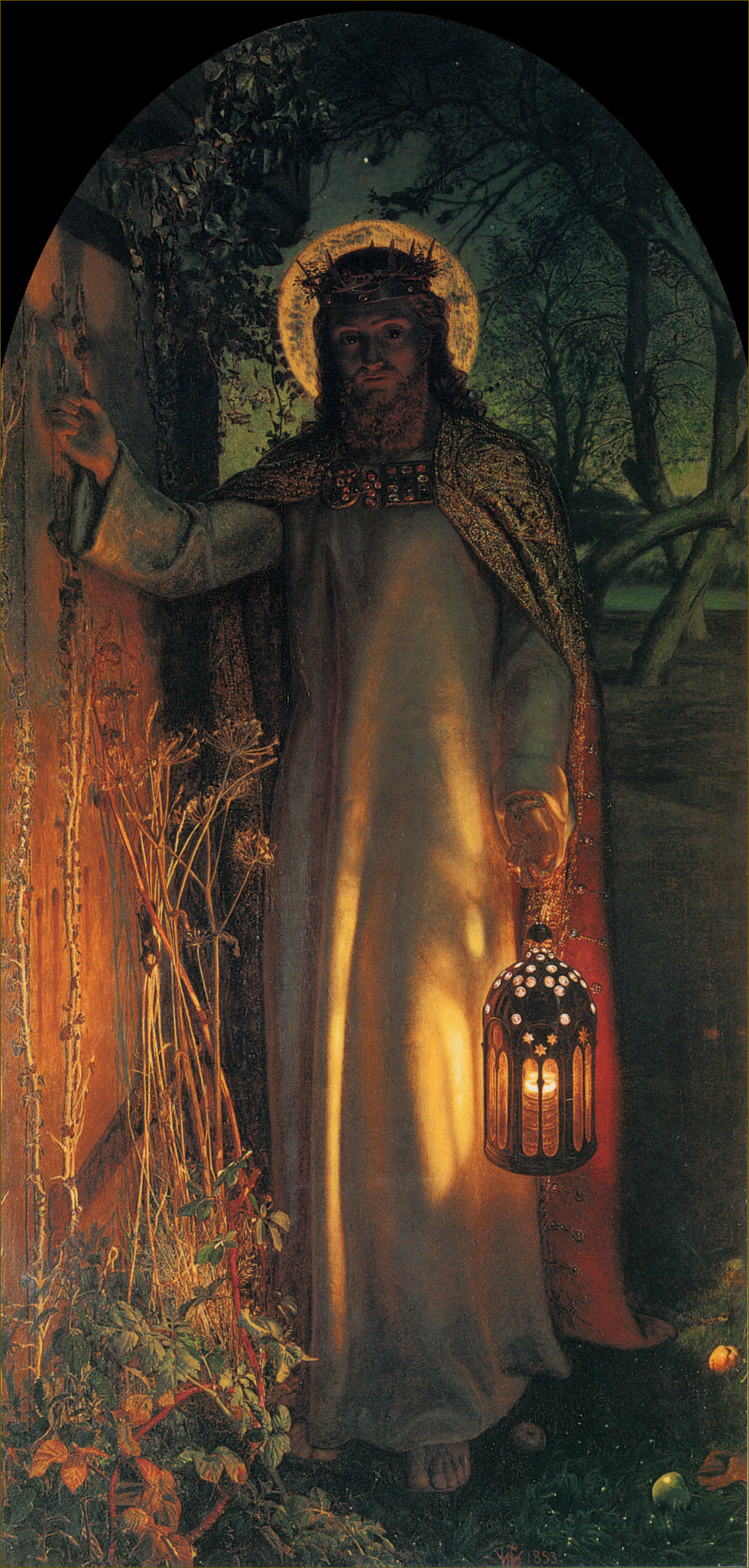 La Lumière du Monde, par William-Holman Hunt (1853)
