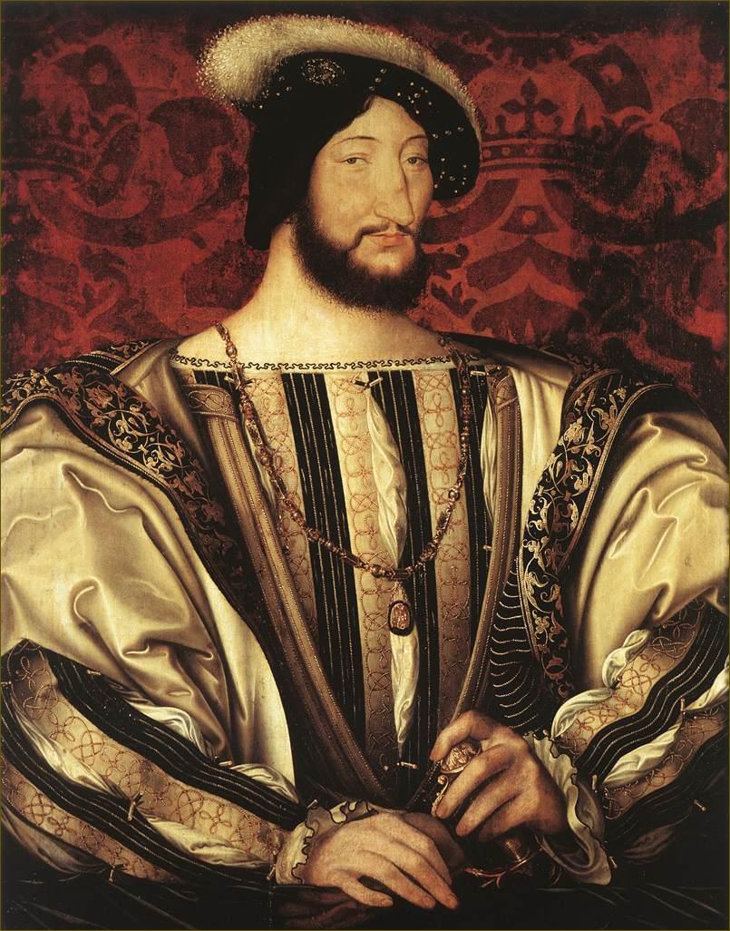 François Ier, roi de France, par Clouet