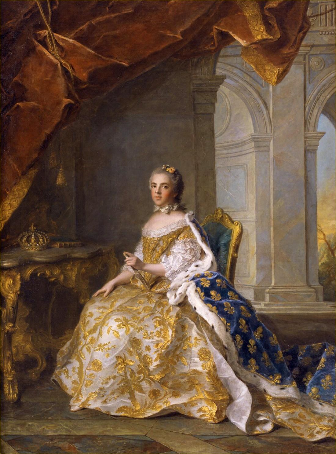 Madame Elisabeth de France, duchesse de Parme, par Nattier