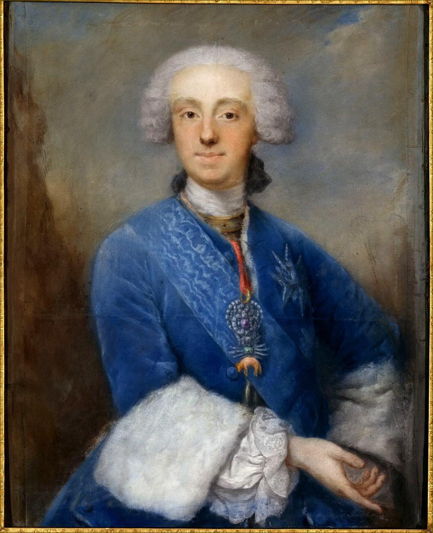 Philippe de Bourbon, infant d'Espagne, duc de Parme, par Ducreux