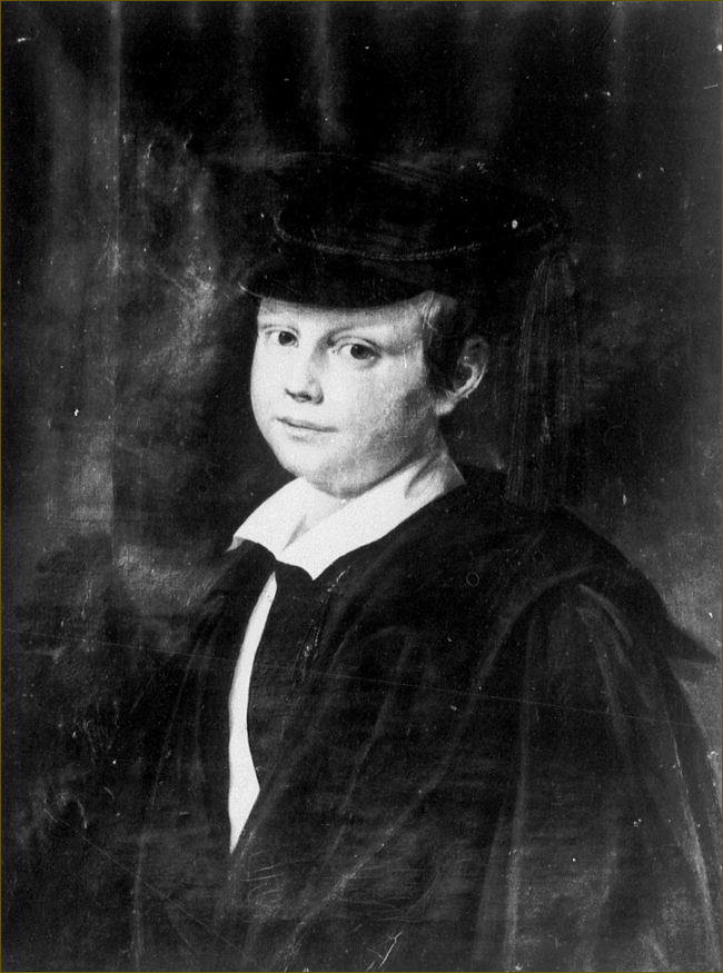 Pierre II, grand-duc d'Oldenbourg, enfant