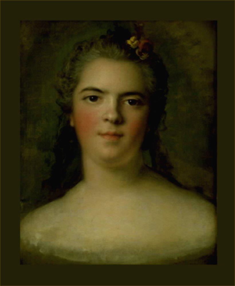 Madame Elisabeth de France, duchesse de Parme, esquisse de Nattier