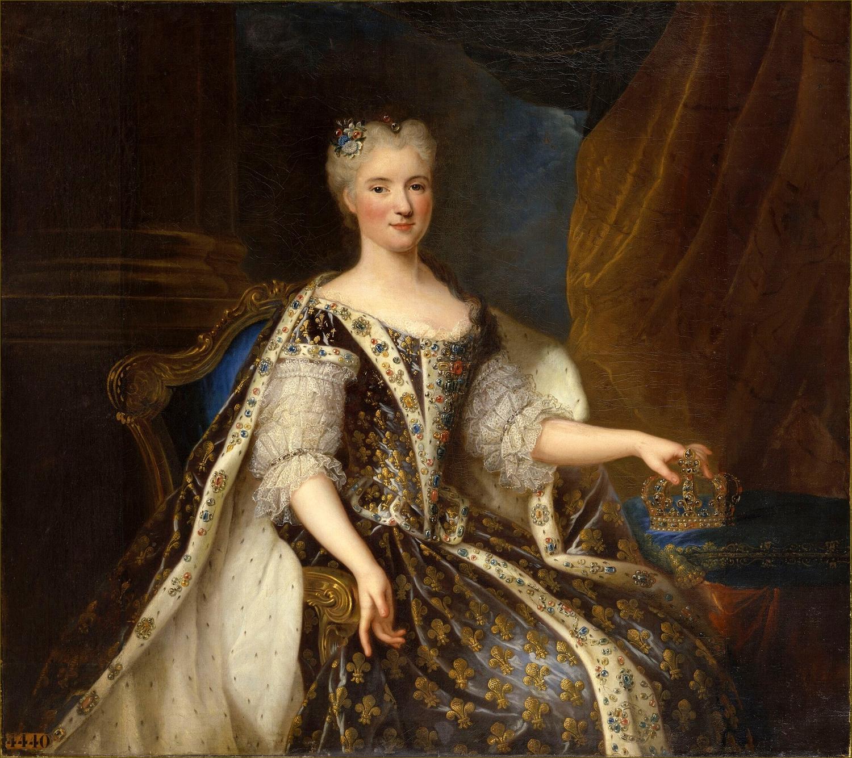 Marie Leczinska, reine de France, par Gobert