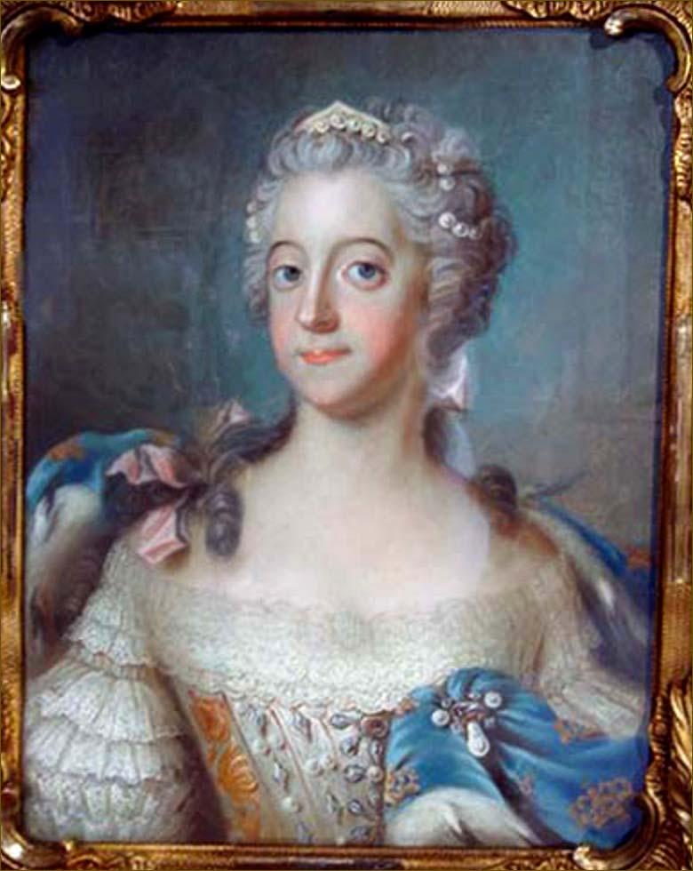Louise-Ulrique de Prusse, reine de Suède, d'après Lundberg