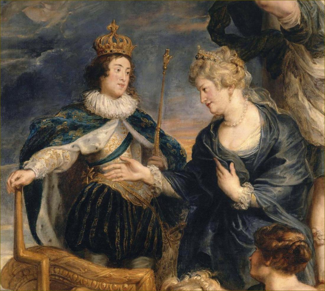 Allégorie de la Majorité de Louis XIII, roi de France, par Rubens