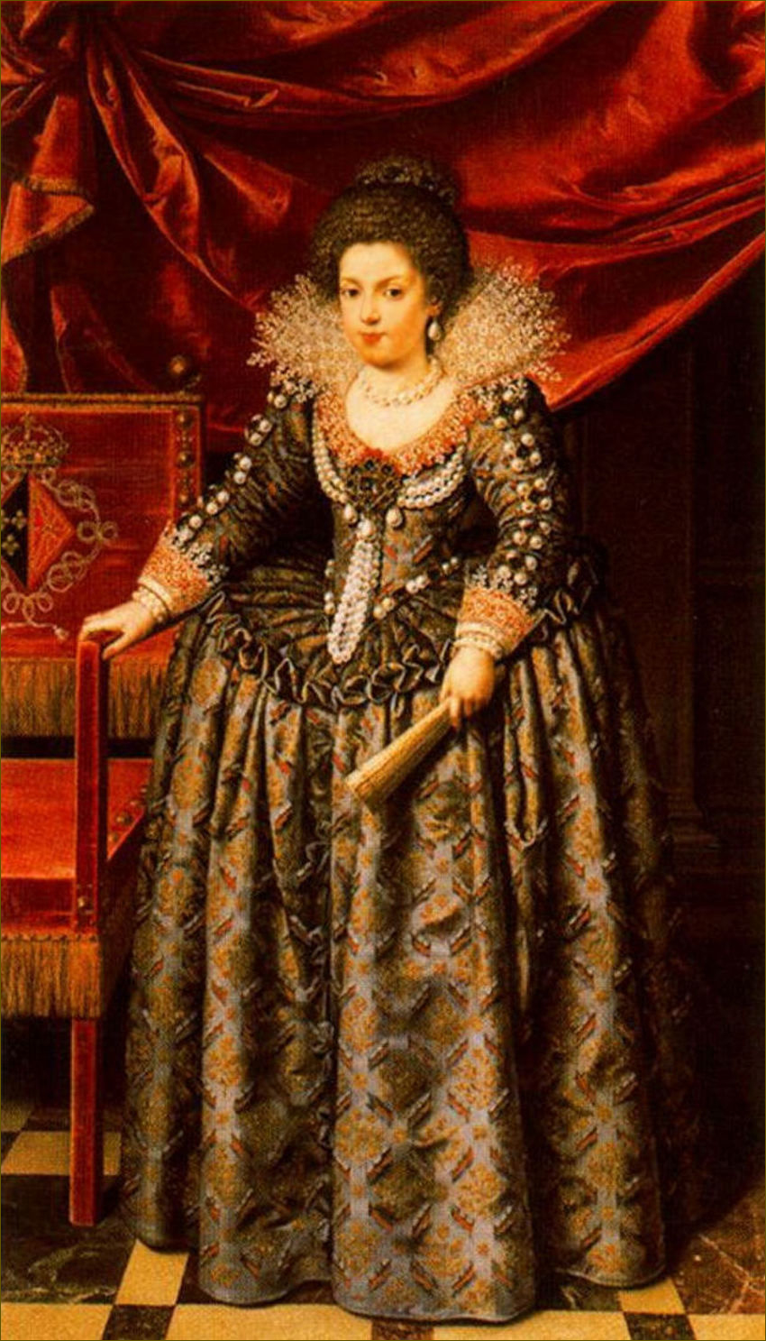 Spanish fashion in the 1600s