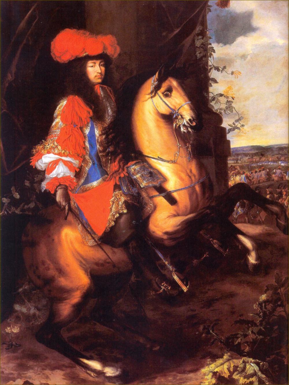 Louis XIV, roi de France, par Le Brun