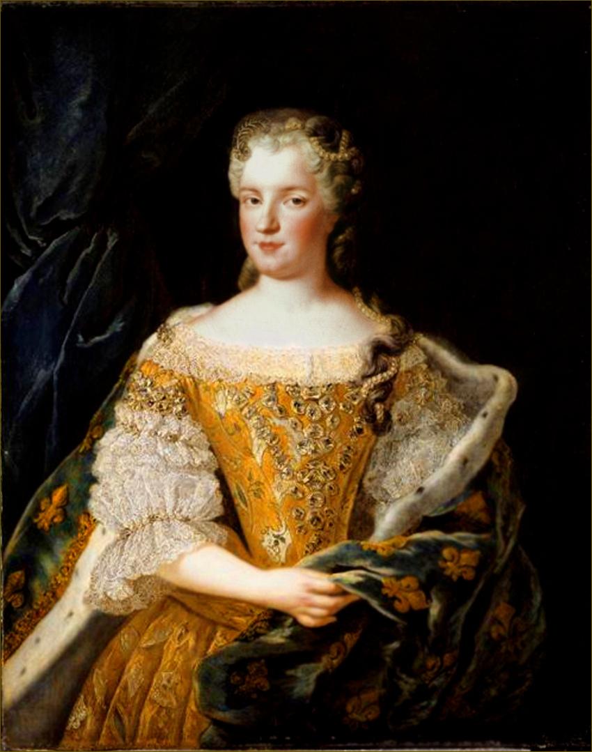 Marie Leczinska, reine de France, par Belle