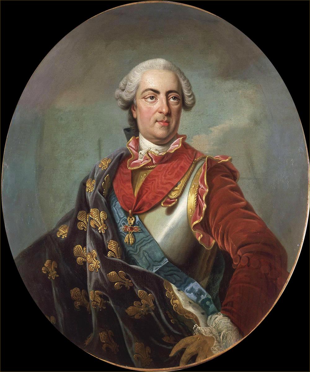 Louis XV, roi de France, vers 1760, atelier de Van Loo
