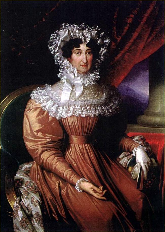 Marie-Béatrice d'Este, archiduchesse d'Autriche-Modène, âgée