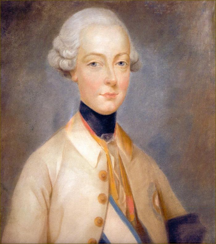 Ferdinand, archiduc d'Autriche-Modène, par Ducreux