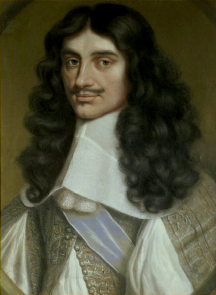 Charles II, roi d'Angleterre, par Wallerand Vaillant