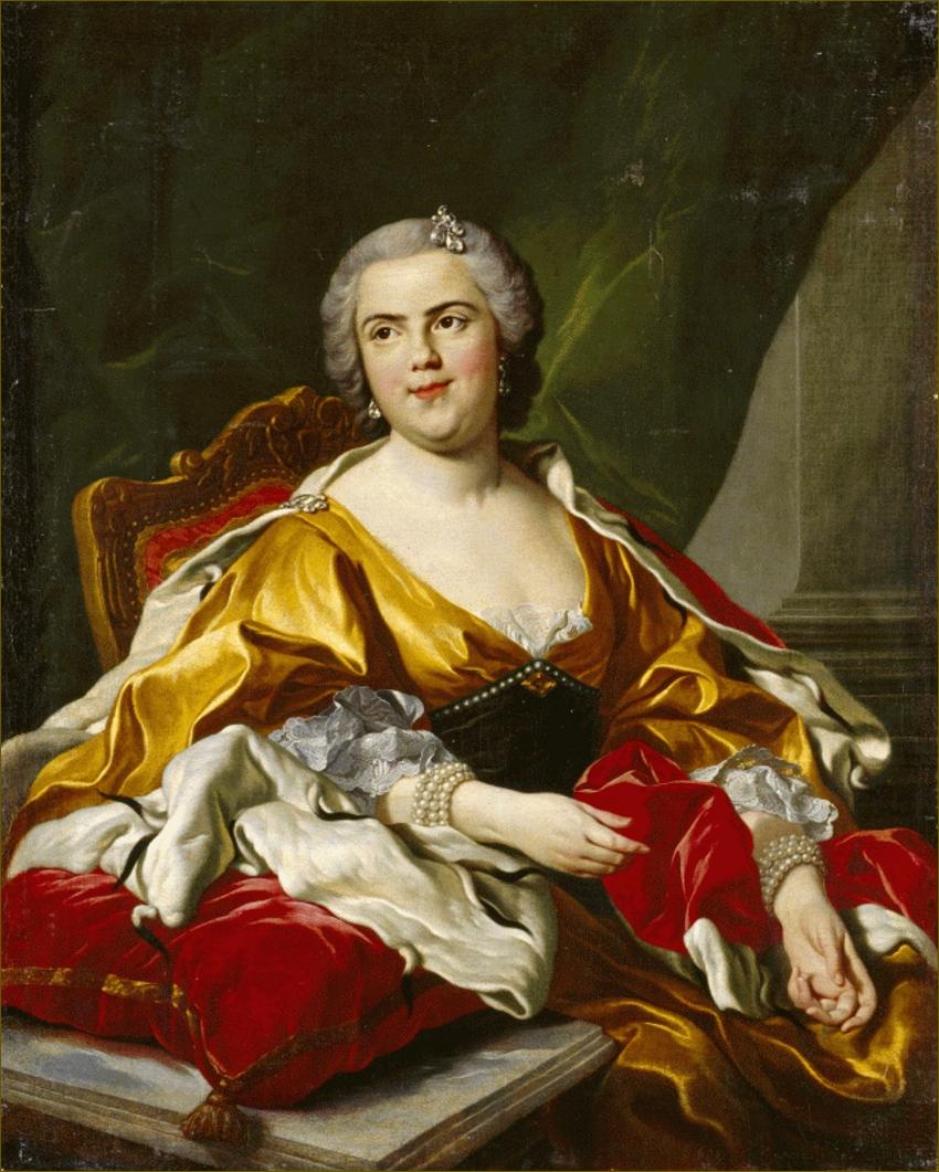 Madame Elisabeth de France, duchesse de Parme, d'après Louis-Michel Van Loo
