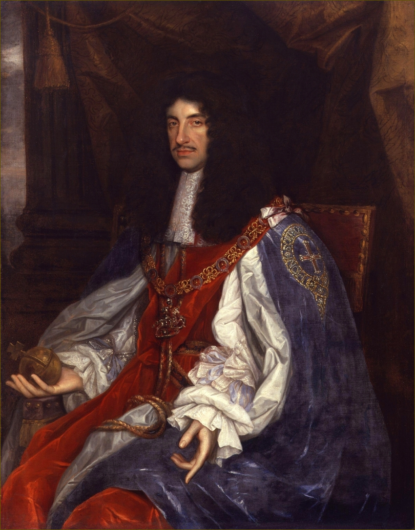 Charles II, roi d'Angleterre, par Wright