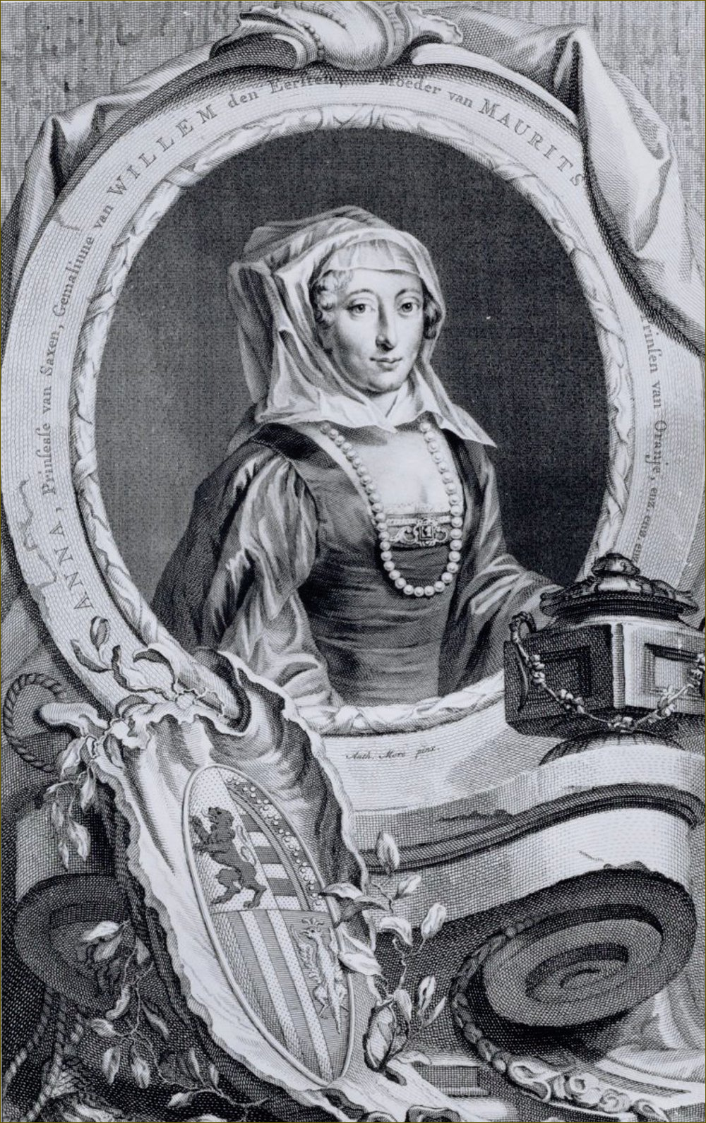 Anne de Saxe, stathouderesse de Hollande