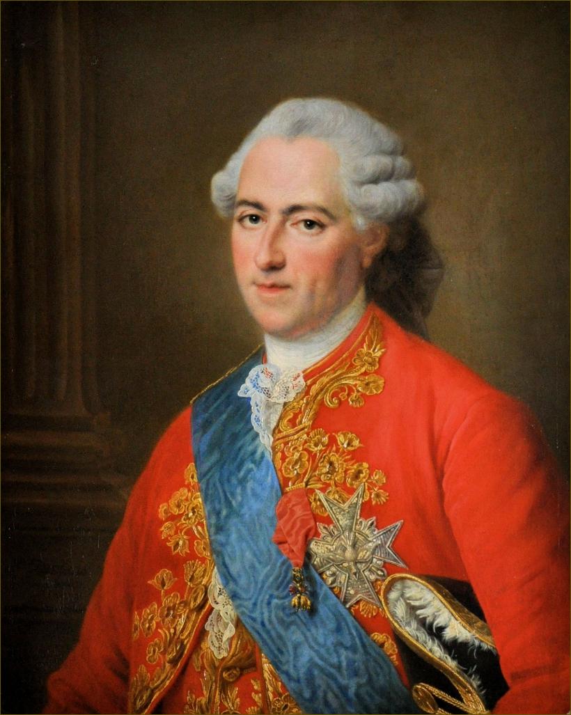 Louis XV, roi de France, âgé de 63 ans, en 1773, par Drouais