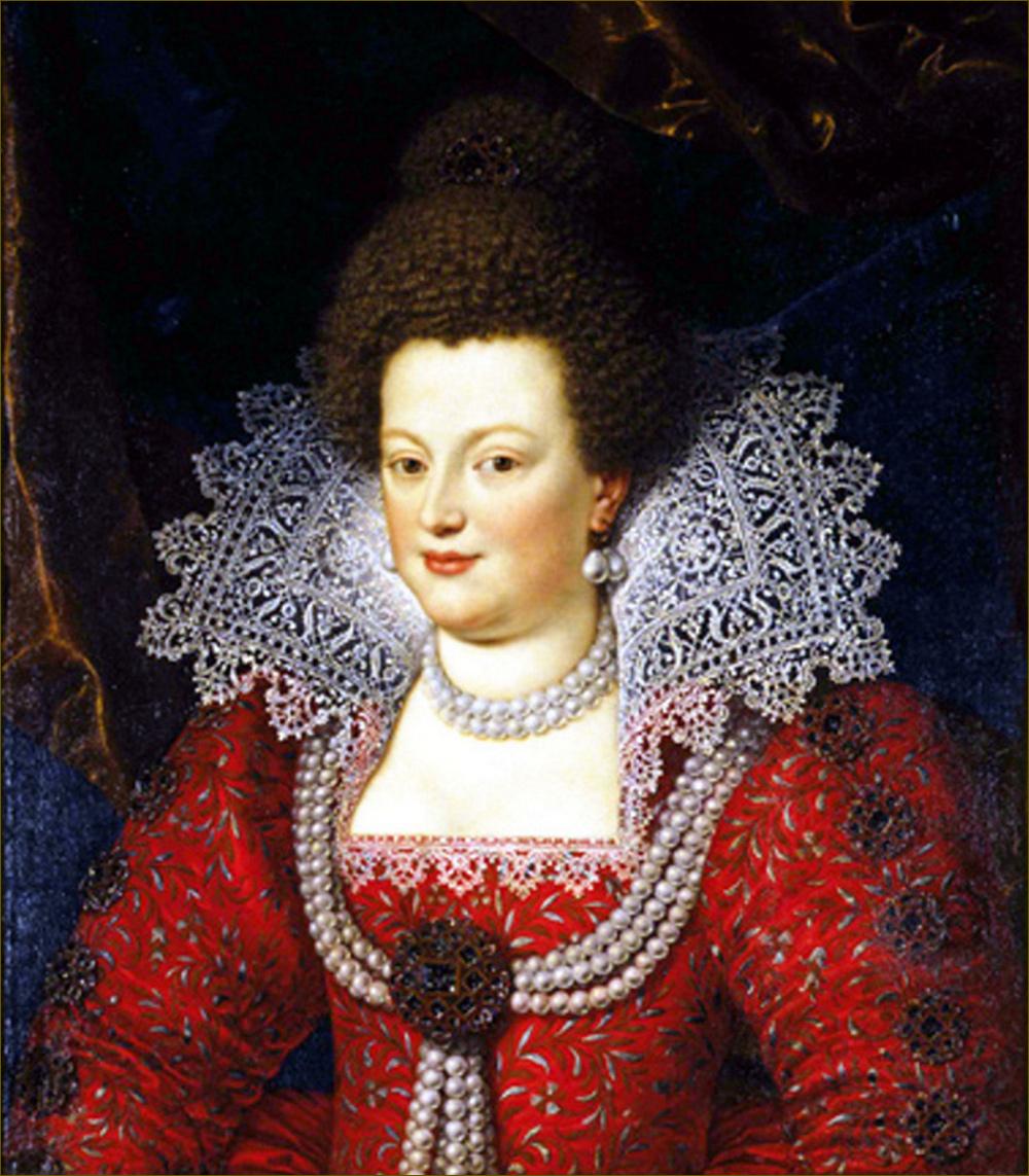 Marie de Médicis, reine de France et de Navarre, par Pulzone