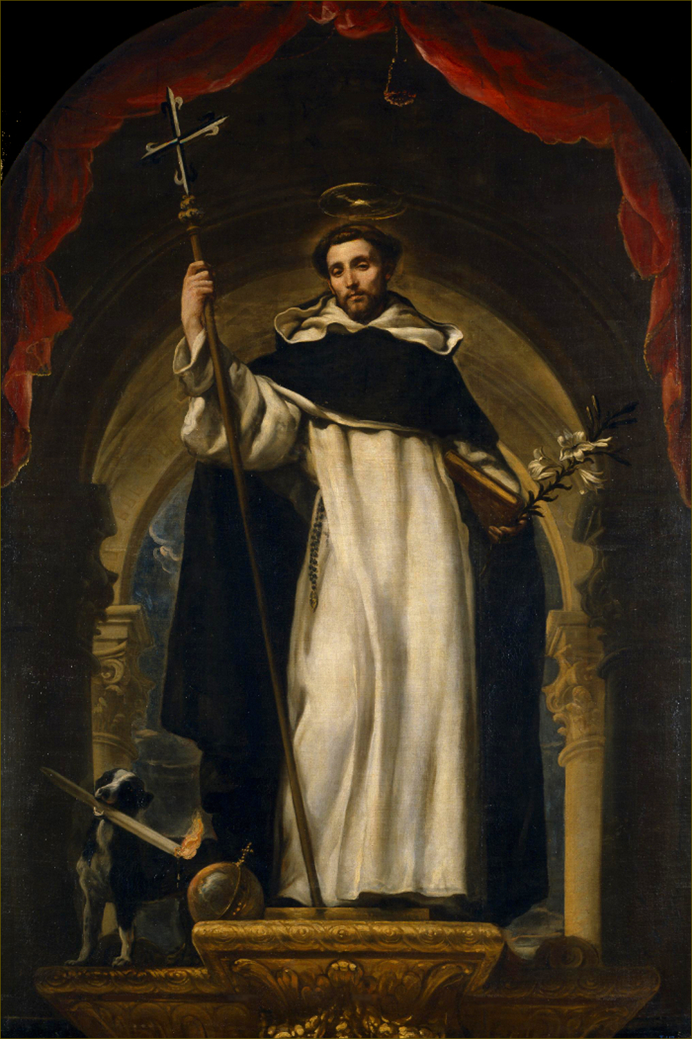 Saint Dominique de Guzman, par Claudio Coello (1685)