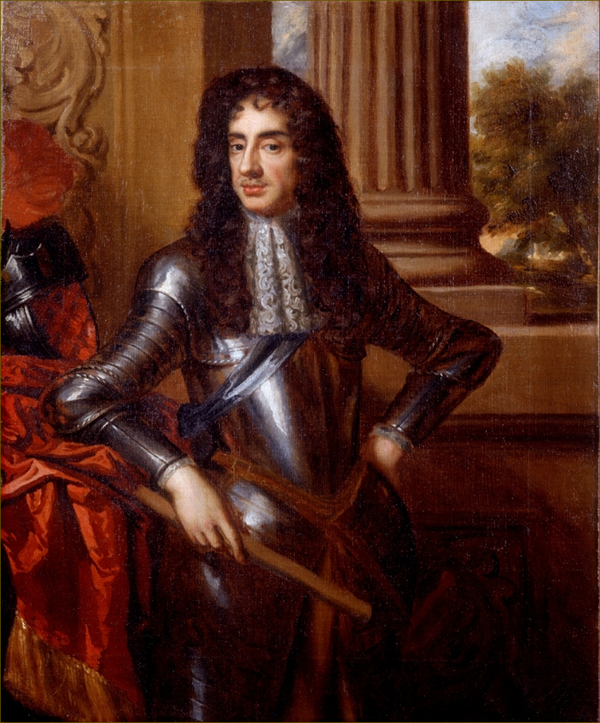 Charles II, roi d'Angleterre, par Mary Beale