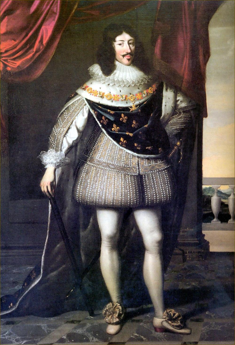 Louis XIII, roi de France, en 1638, par Charles Beaubrun