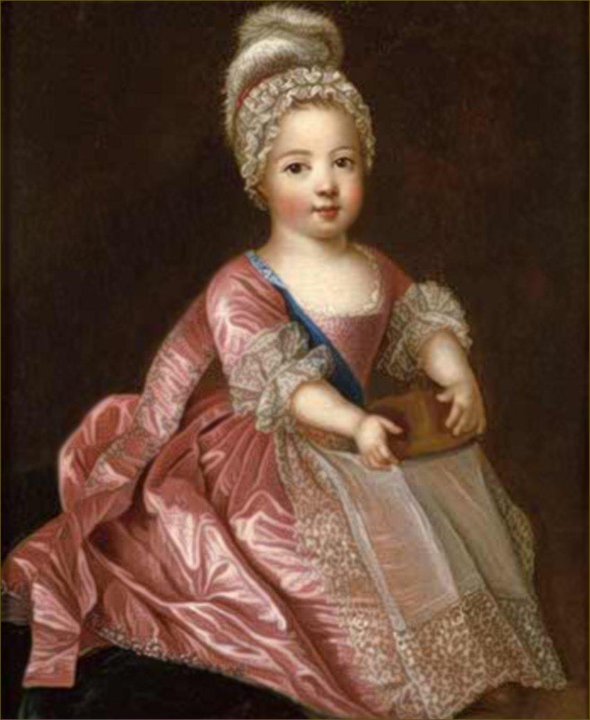 Louis XV, roi de France, enfant