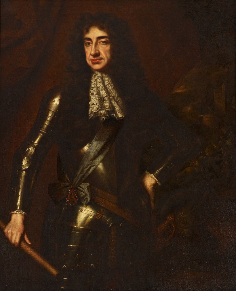 Charles II, roi d'Angleterre, par William Wissing