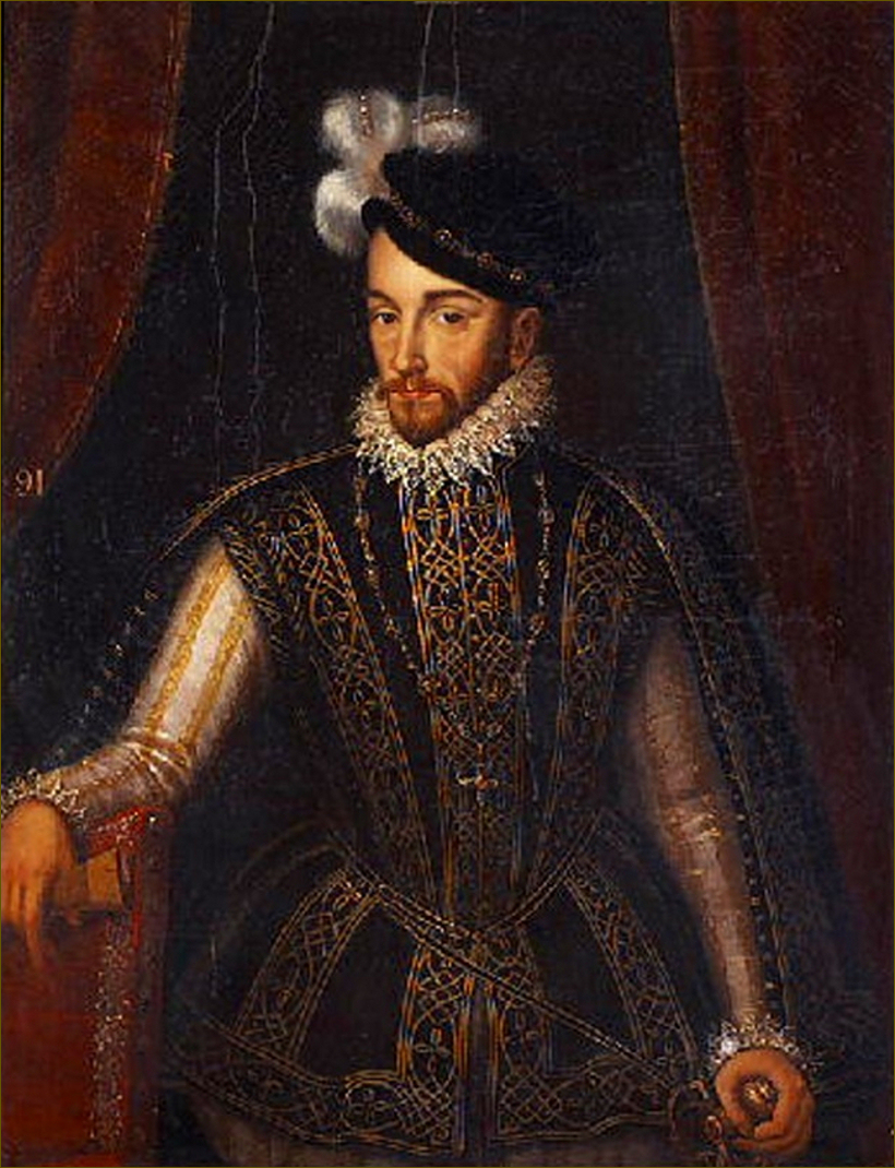 Charles IX, roi de France, d'après Clouet