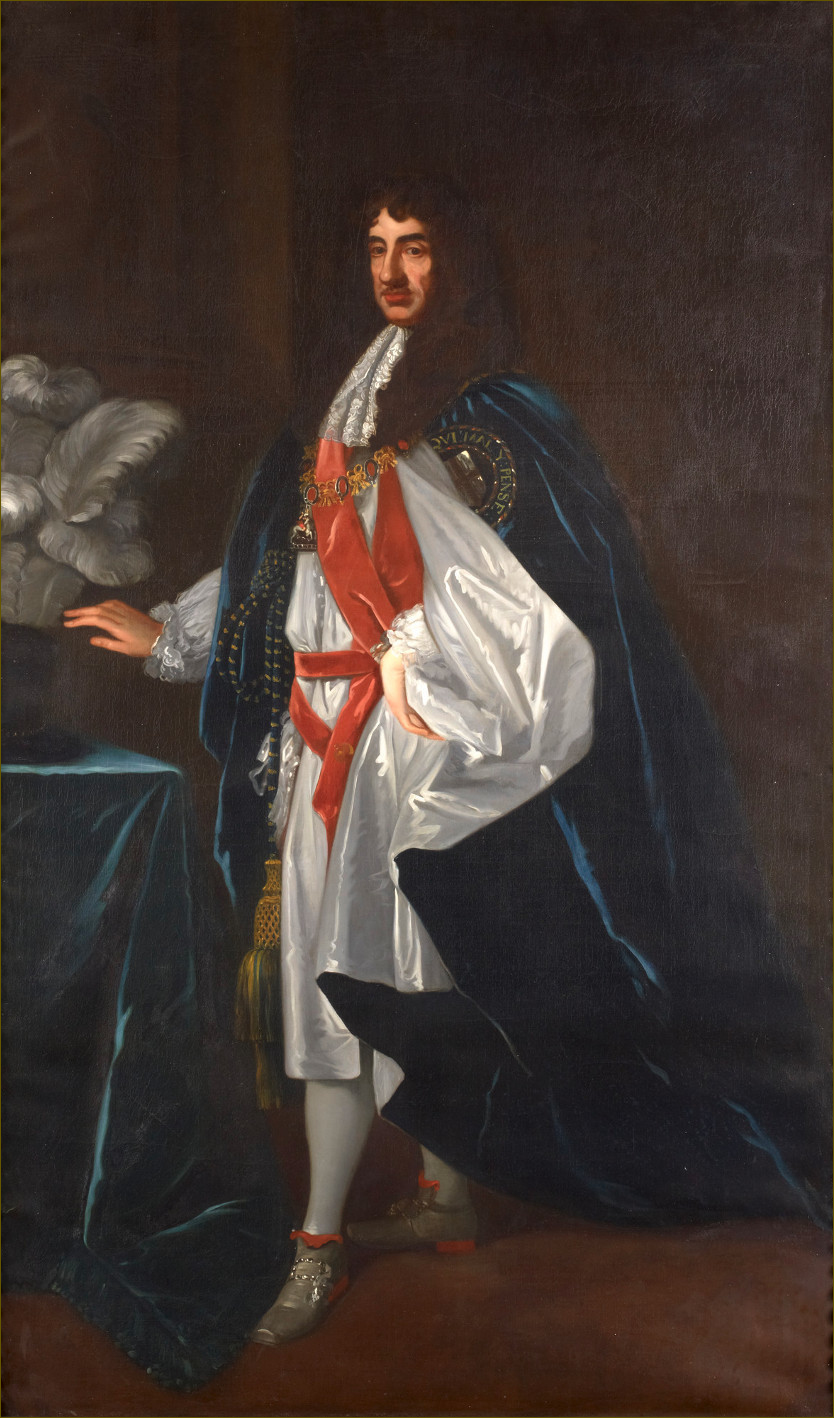 Charles II, roi d'Angleterre, d'après Lely