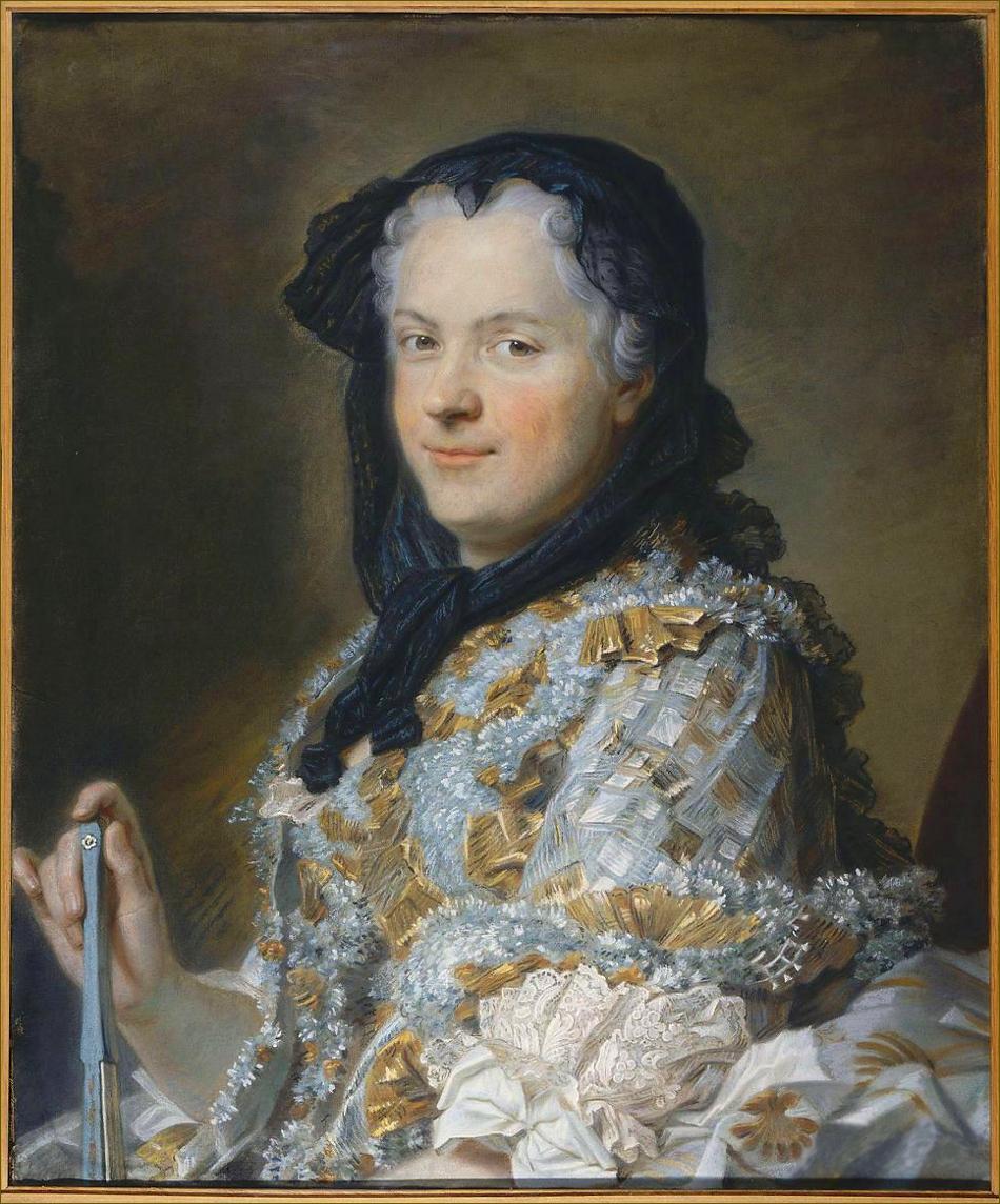 Marie Leczinska, reine de France, par Quentin de La Tour