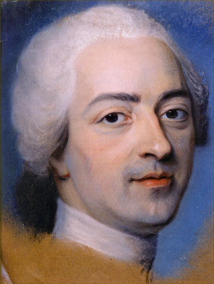 Louis XV, roi de France, âgé de 35 ans, en 1745, par La Tour