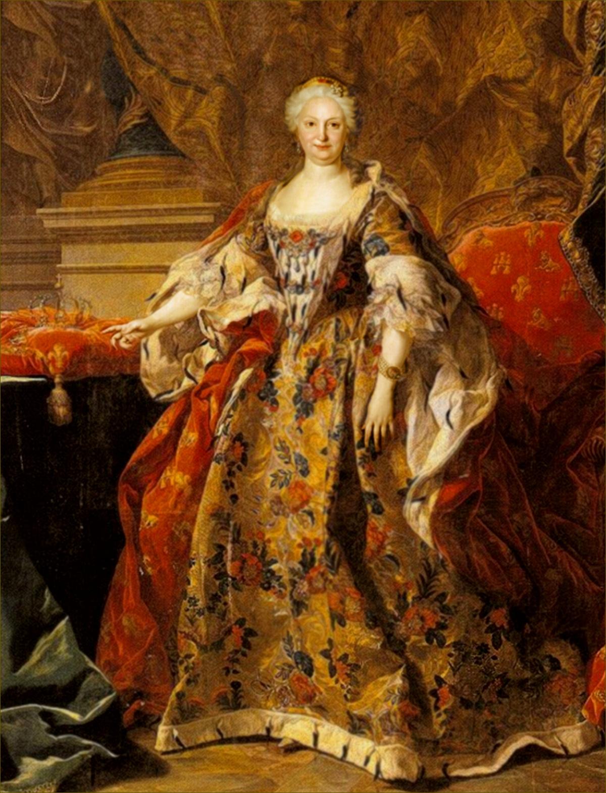 Elisabeth Farnèse, reine d'Espagne, par Louis-Michel Van Loo
