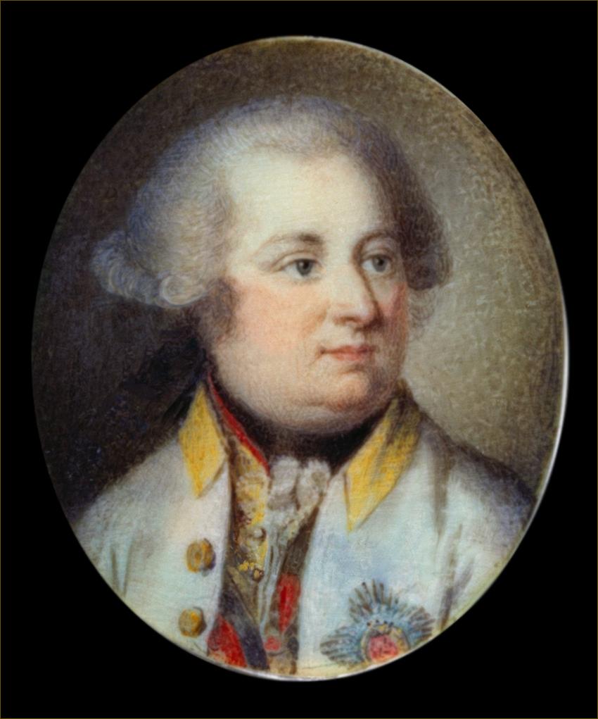 Ferdinand, archiduc d'Autriche-Modène, vers 1790