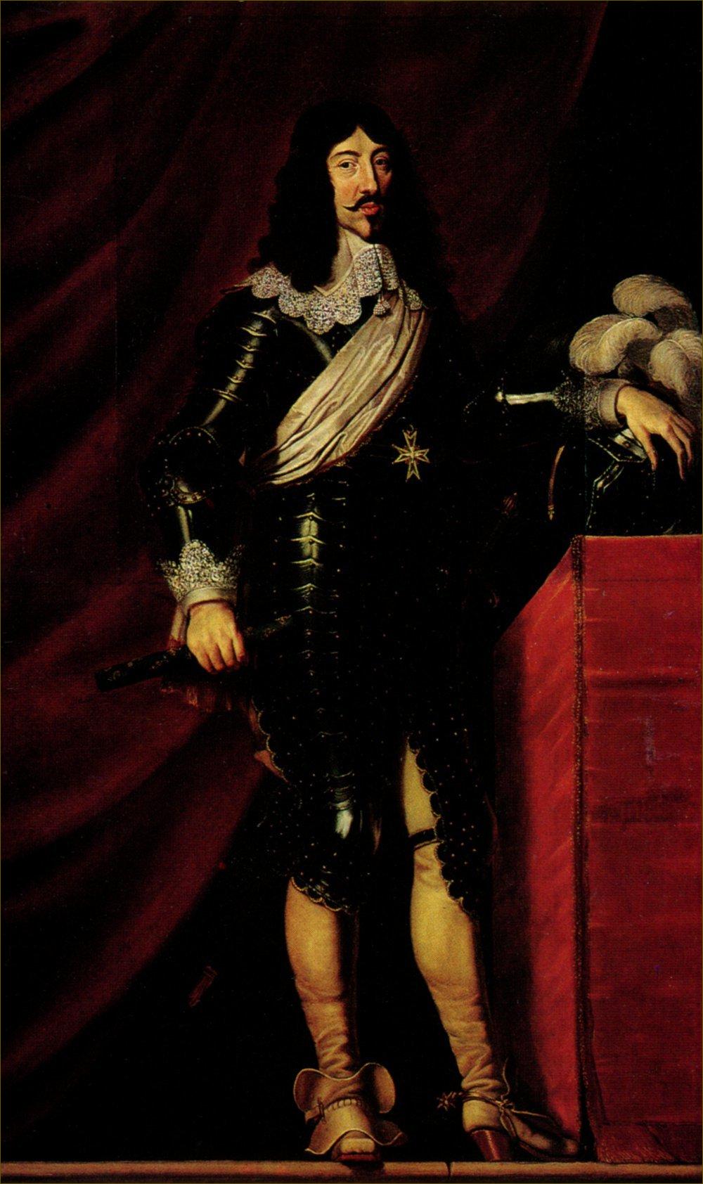Louis XIII, roi de France et de Navarre, atelier de Philippe de Champaigne