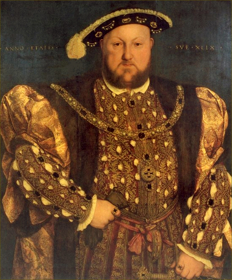 Henry VIII, roi d'Angleterre, d'après Holbein