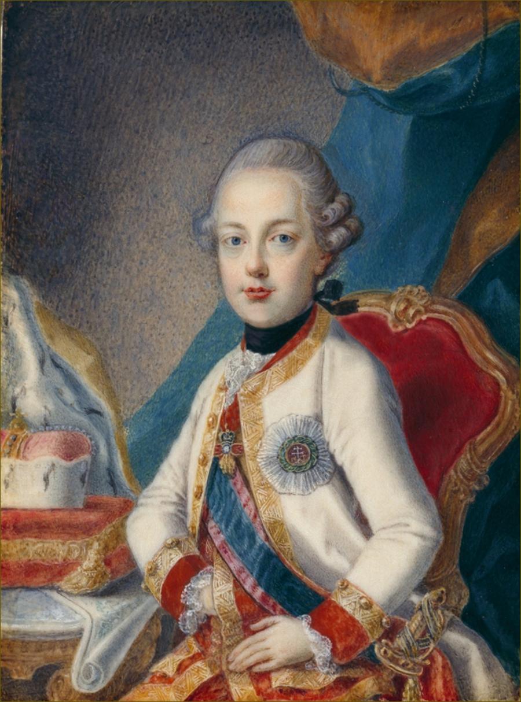 Ferdinand, archiduc d'Autriche-Modène, adolescent