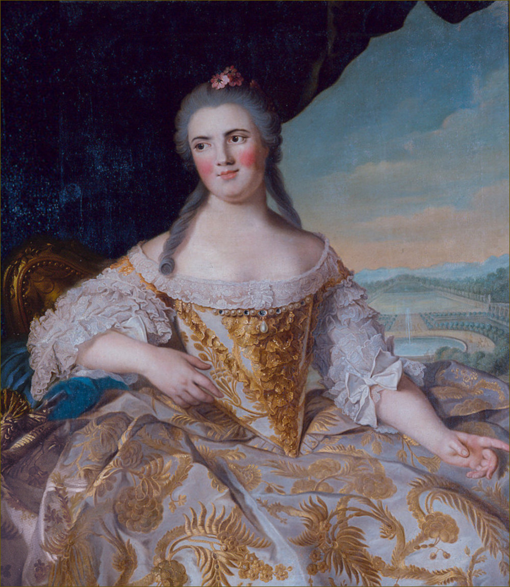 Madame Elisabeth de France, duchesse de Parme, d'après Nattier