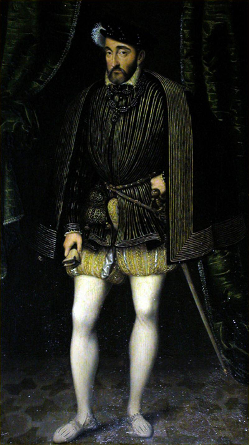 Henri II, roi de France, d'après Clouet