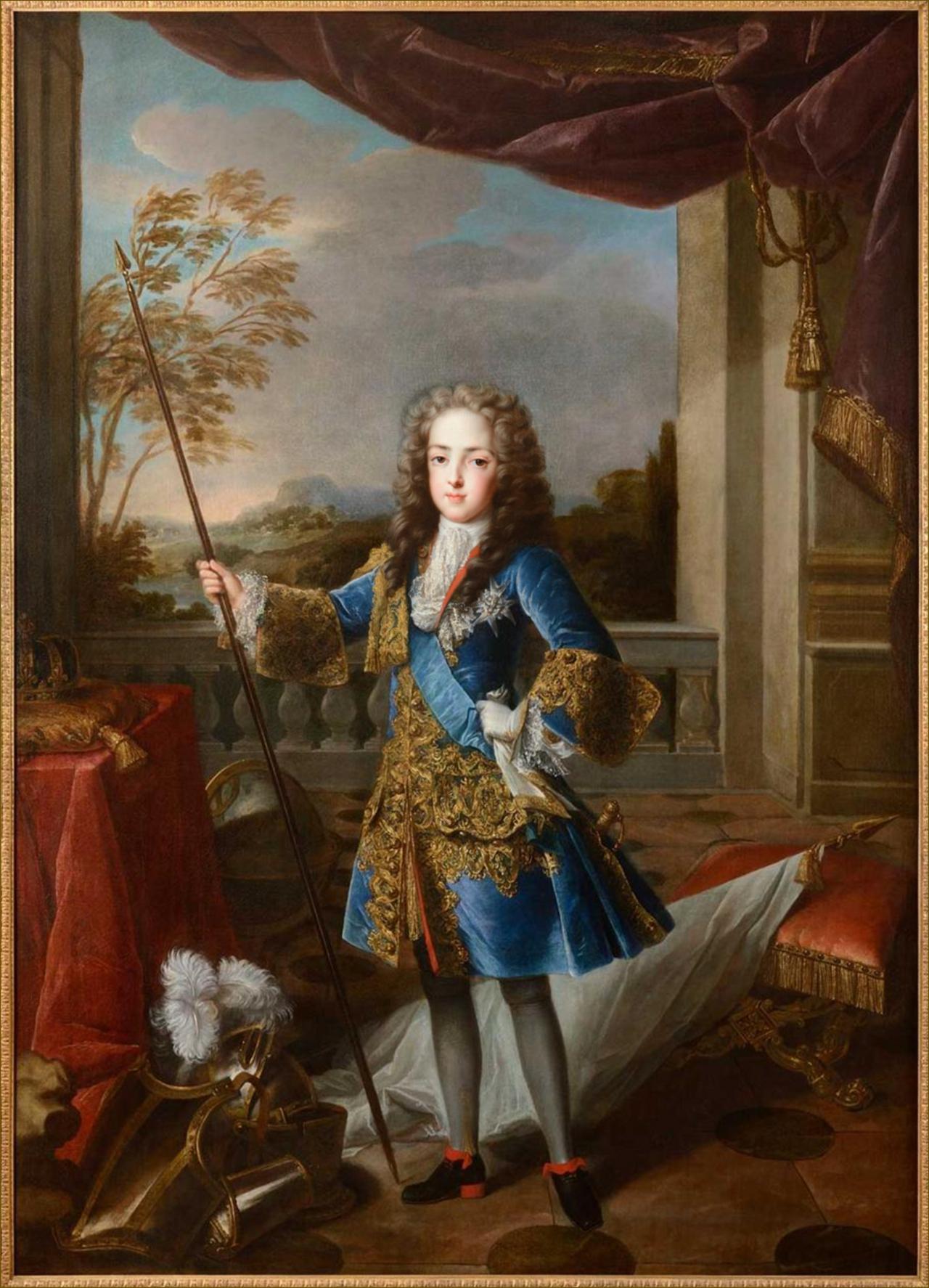 Louis XV, roi de France, vers 1720, par De Troy