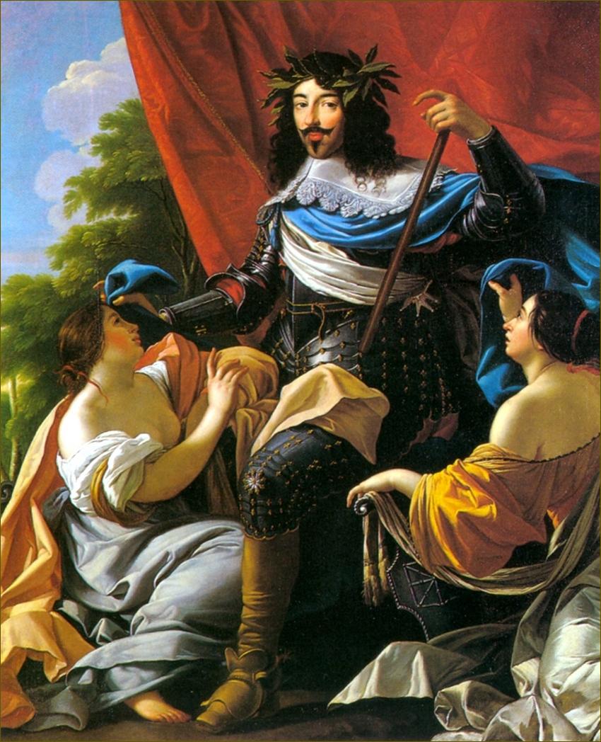 Louis XIII, roi de France et de Navarre, par Simon Vouet