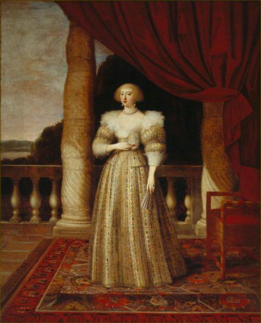 Anne d'Autriche, infante d'Espagne, reine de France, par Elle l'Ancien