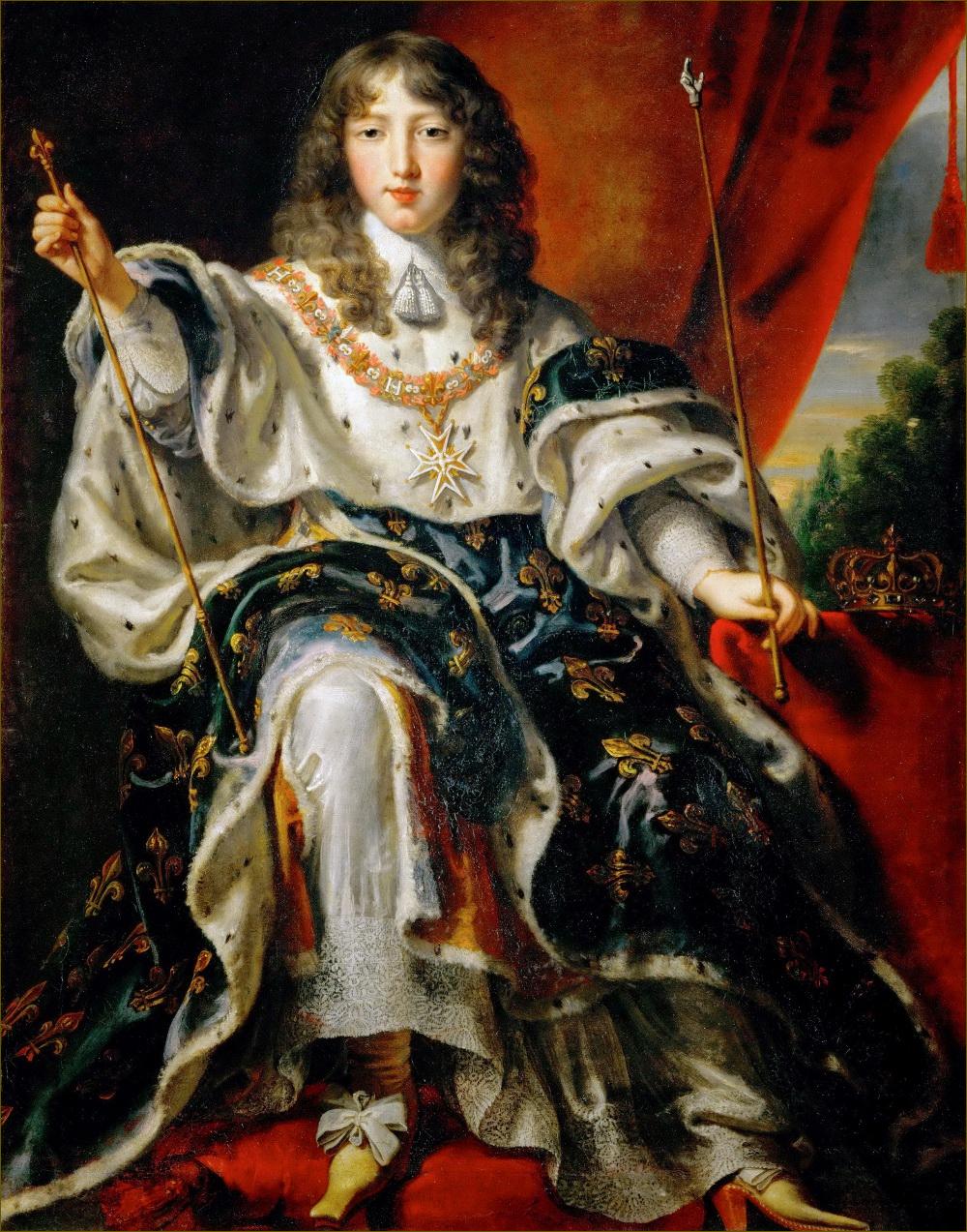 Louis XIV, roi de France, adolescent, par Juste d'Egmont